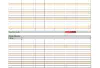 40 Free Timesheet Templates [In Excel] ᐅ Template Lab intended for Weekly Time Card Template Free
