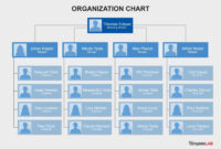 40 Organizational Chart Templates (Word, Excel, Powerpoint) intended for Free Blank Organizational Chart Template
