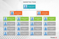 40 Organizational Chart Templates (Word, Excel, Powerpoint) throughout Company Organogram Template Word