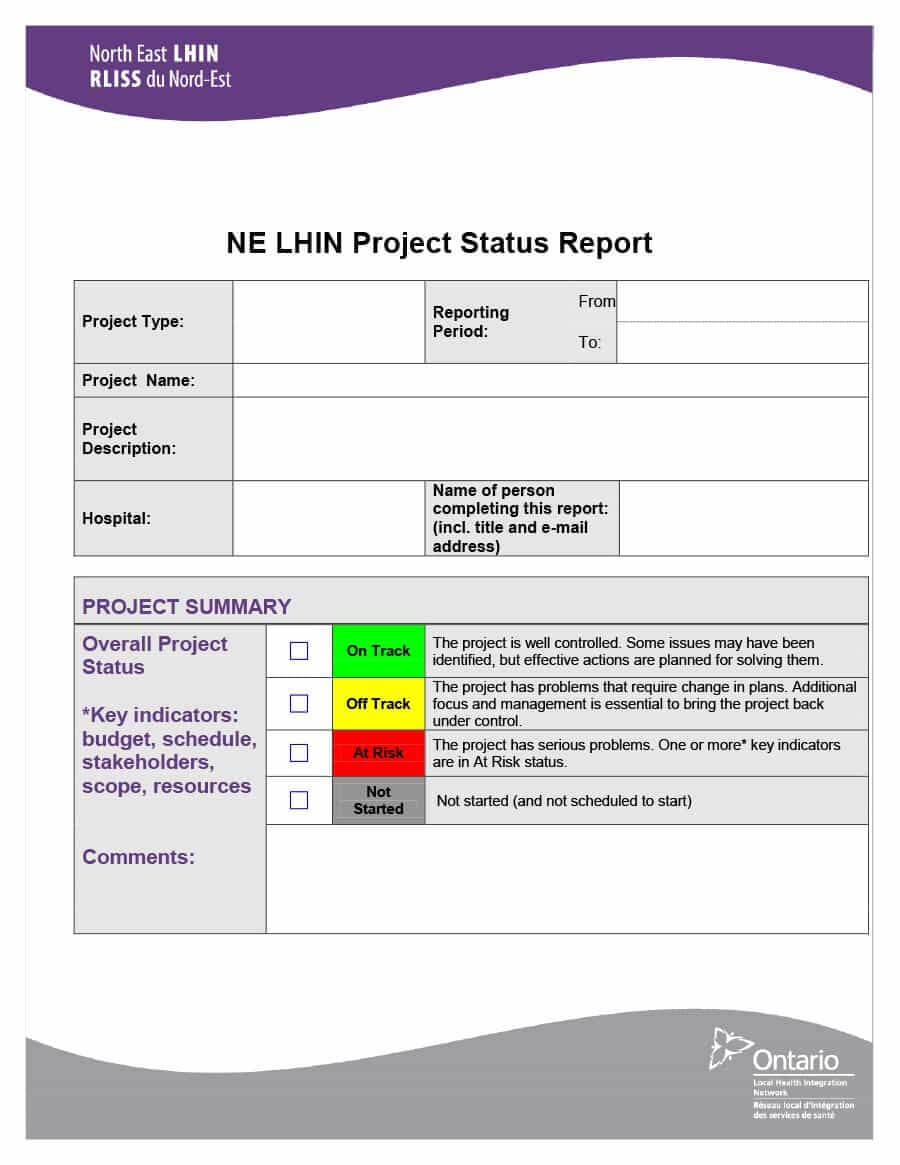40+ Project Status Report Templates [Word, Excel, Ppt] ᐅ Intended For Project Status Report Email Template
