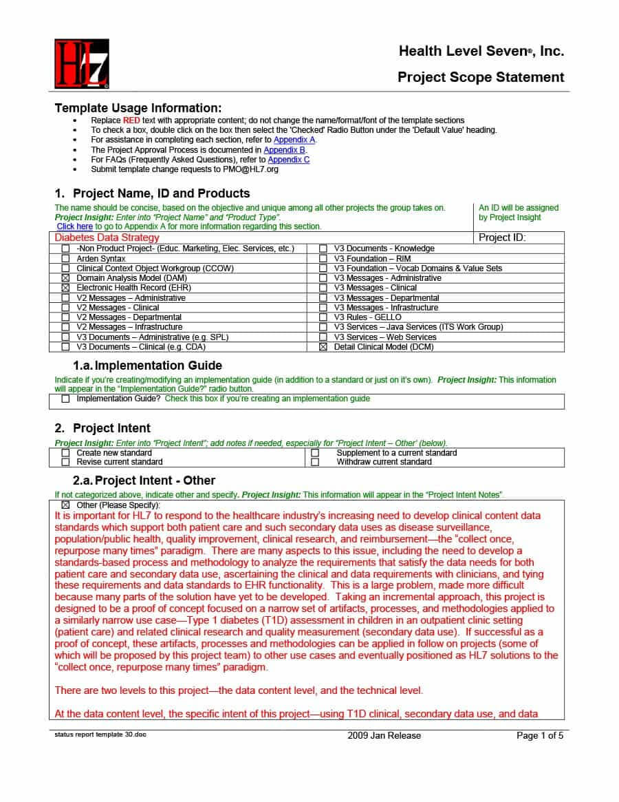 40+ Project Status Report Templates [Word, Excel, Ppt] ᐅ Regarding Implementation Report Template