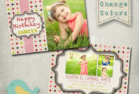 40Th Birthday Ideas: Birthday Invitation Template For Photoshop Intended For Photoshop Birthday Card Template Free