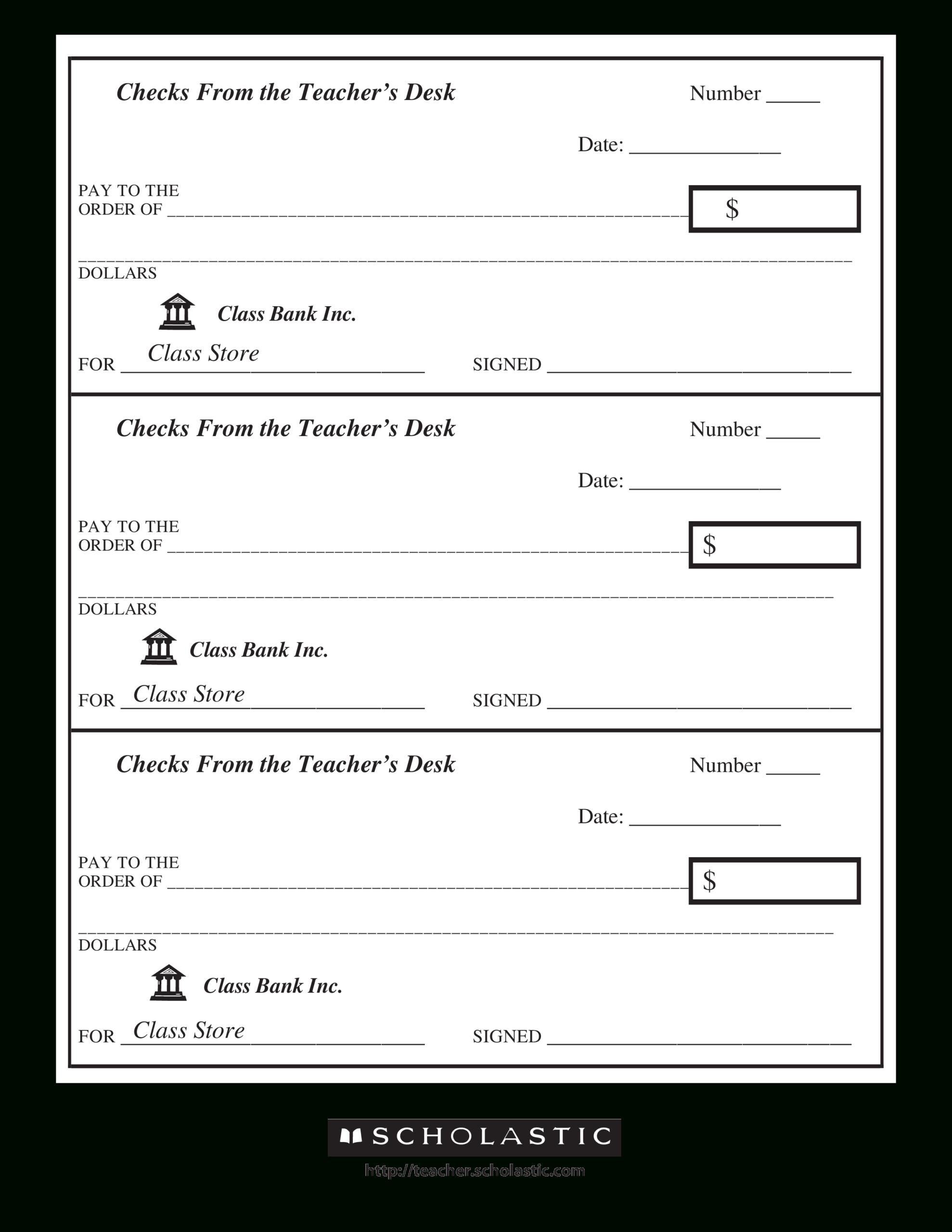 43+ Fake Blank Check Templates Fillable Doc, Psd, Pdf!! Intended For Customizable Blank Check Template