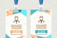 43+ Professional Id Card Designs – Psd, Eps, Ai, Word | Id pertaining to Id Card Template Ai