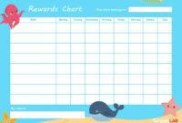 44 Printable Reward Charts For Kids (Pdf, Excel & Word) regarding Reward Chart Template Word