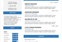 45 Free Modern Resume / Cv Templates – Minimalist, Simple pertaining to Resume Templates Microsoft Word 2010