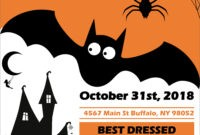 45 Free Poster And Flyer Templates – Clean, Simple, And in Free Halloween Templates For Word