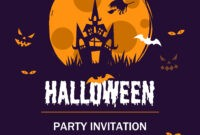 45 Free Poster And Flyer Templates – Clean, Simple, And pertaining to Free Halloween Templates For Word