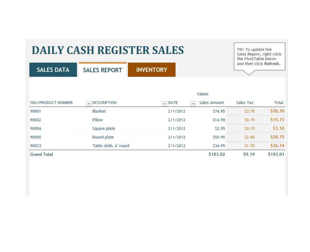 45 Sales Report Templates [Daily, Weekly, Monthly Salesman Intended For Sale Report Template Excel