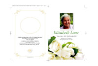 47 Free Funeral Program Templates (In Word Format) ᐅ With Regard To Memorial Brochure Template