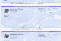 5+ Blank Payroll Check Paper | Secure Paystub | Printable with Blank Business Check Template