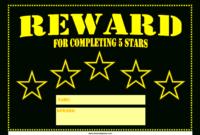 5 Star Printable Reward Certificate | Templates At inside Star Naming Certificate Template