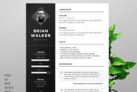 50+ Best Cv & Resume Templates 2020 | Resume Template Free throughout How To Find A Resume Template On Word