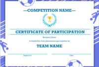 50 Free Creative Blank Certificate Templates In Psd inside Sports Award Certificate Template Word