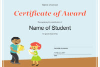 50 Free Creative Blank Certificate Templates In Psd throughout Free School Certificate Templates