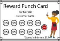50+ Punch Card Templates – For Every Business (Boost throughout Reward Punch Card Template