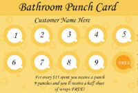 50+ Punch Card Templates – For Every Business (Boost within Business Punch Card Template Free