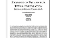 50 Simple Corporate Bylaws Templates & Samples ᐅ Template Lab pertaining to Corporate Bylaws Template Word