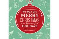 50+ Stylish Festive Christmas Greetings Card Templates in Adobe Illustrator Christmas Card Template