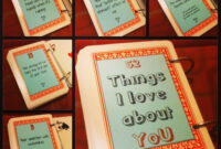52 Things I Love About You! ❤ | 52 Reasons Why I Love You For 52 Things I Love About You Deck Of Cards Template