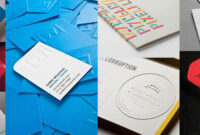 60 Beautiful & Creative Embossed Business Cards – Web throughout Web Design Business Cards Templates
