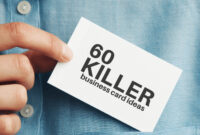 60 Modern Business Cards To Make A Killer First Impression with regard to Freelance Business Card Template