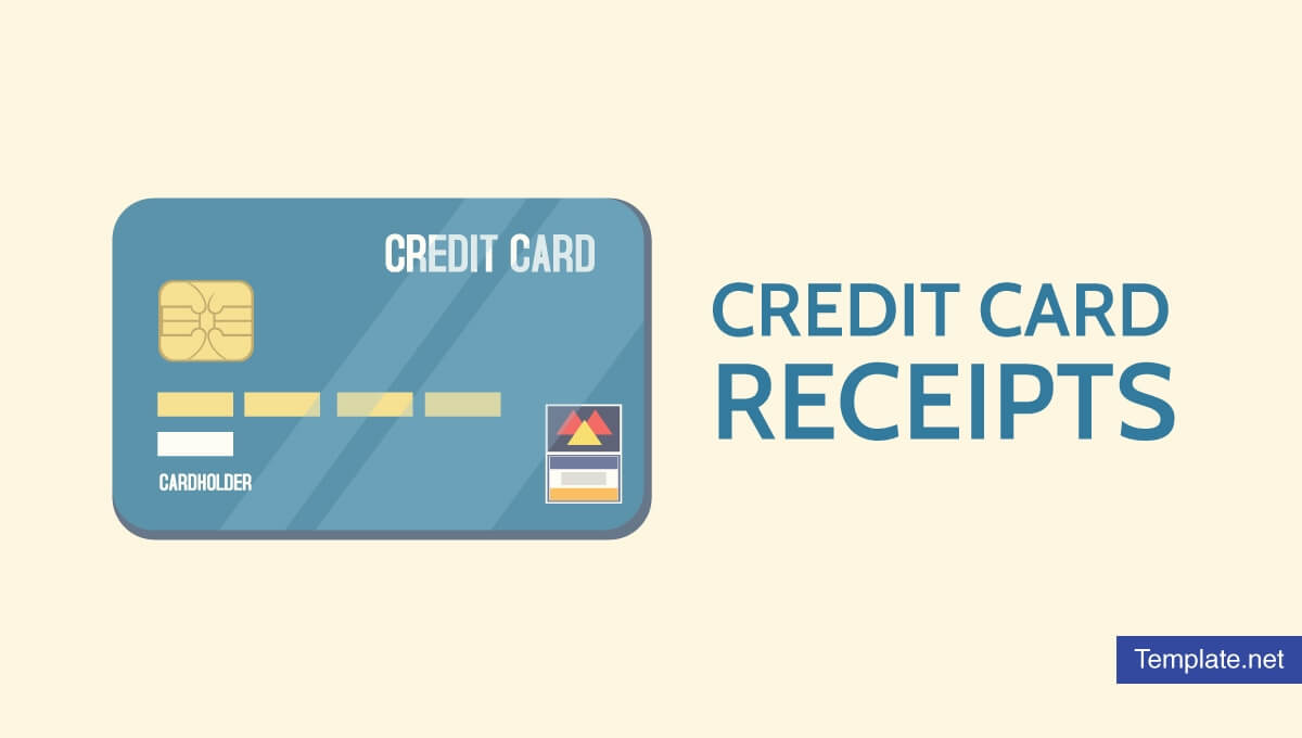 7+ Credit Card Receipt Templates - Pdf | Free & Premium In Credit Card Template For Kids