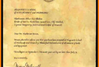 7+ Harry Potter Letter Background   Management-On-Call intended for Harry Potter Certificate Template