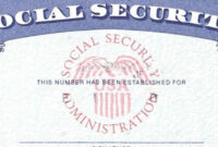 7 Social Security Card Template Psd Images – Social Security with regard to Social Security Card Template Free