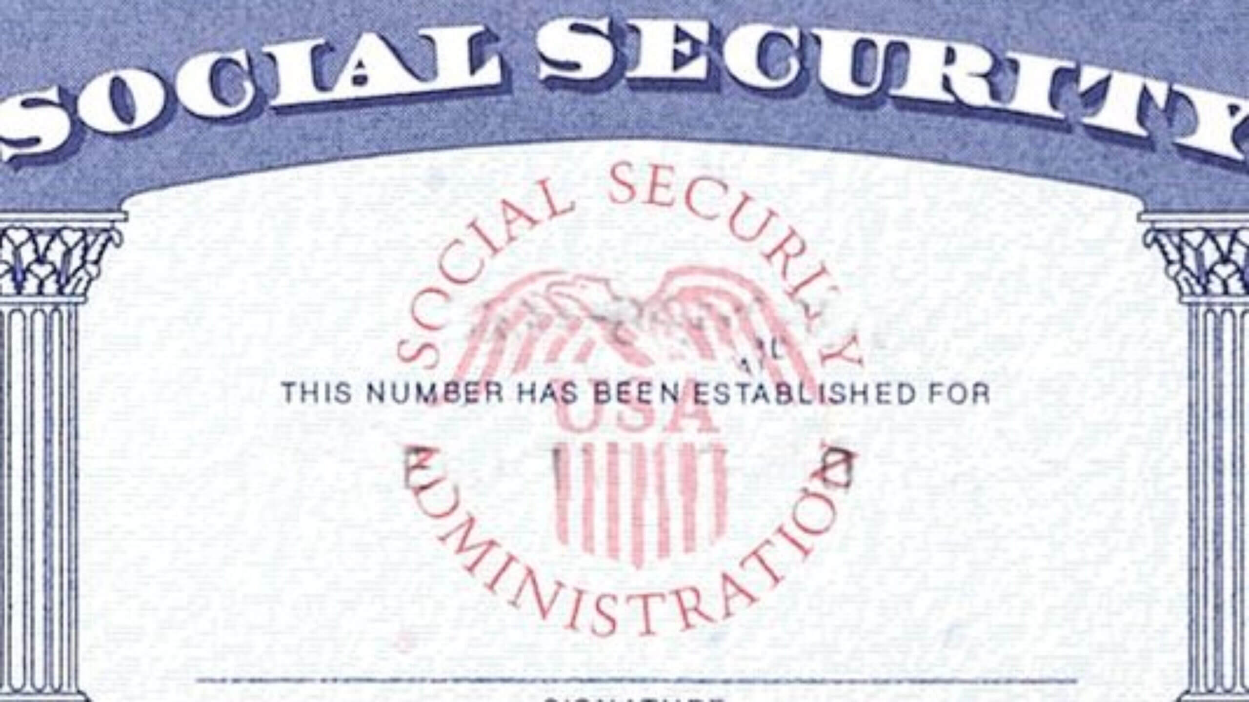 7 Social Security Card Template Psd Images - Social Security With Regard To Social Security Card Template Photoshop