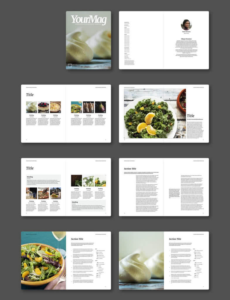 75 Fresh Indesign Templates And Where To Find More With Regard To Indesign Templates Free Download Brochure