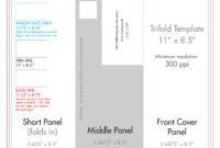 "8.5"" X 11"" Tri Fold Brochure Template – U.s. Press Pertaining To 8.5 X11 Brochure Template"