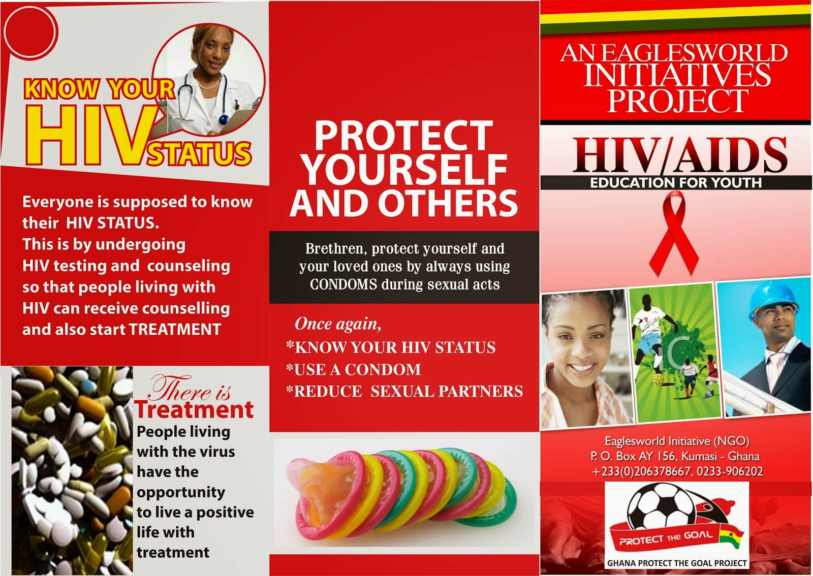 8 Best Photos Of Hiv Brochure Template - Hiv Aids Brochure With Hiv Aids Brochure Templates