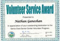 8 Free Printable Certificates Of Appreciation Templates pertaining to Volunteer Award Certificate Template