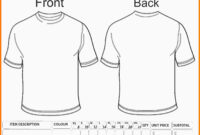 8+ Free T Shirt Order Form Template Word | Marlows Jewellers in Blank T Shirt Order Form Template