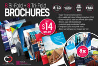8 Print-Ready Indesign Bi-Fold & Tri-Fold Brochure Templates with regard to Adobe Indesign Tri Fold Brochure Template