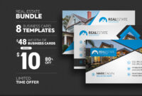 8 Real Estate Business Cards – Graphic Pick inside Real Estate Business Cards Templates Free