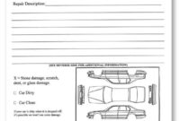 8+ Vehicle Condition Report Templates – Word Excel Fomats within Truck Condition Report Template