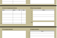 8D Excel Template Learn How To Create An 8D Problem Solving intended for 8D Report Template