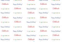 8X8 Step Repeat Banner – Happy Birthday Celebrate Birthday intended for Step And Repeat Banner Template