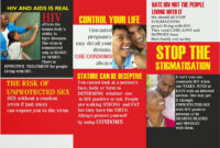 9 Best Photos Of Student Educational On Hiv Aids Brochure for Hiv Aids Brochure Templates