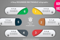 9.create 6 Step Rounded Rectangular Infograhic/powerpoint for Powerpoint Kinetic Typography Template