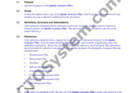 9+ Software Quality Assurance Plan Examples – Pdf | Examples within Software Quality Assurance Report Template