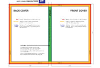 A Useful Book Template | Danieljohnson90 inside 6X9 Book Template For Word