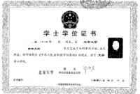 A User's Guide: China's New Non-Standardized Degree Certificate intended for Masters Degree Certificate Template