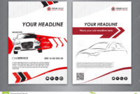A5, A4 Set Service Car Business Card Templates. Car Repair intended for Automotive Business Card Templates