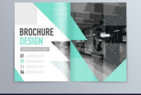 Abstract Brochure Design Template In A4 Size for Engineering Brochure Templates Free Download