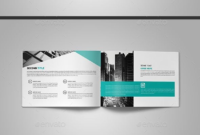Abstract Landscape Brochure Page — Indesign Template • Only Intended For 12 Page Brochure Template