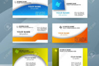 Abstract Professional And Designer Business Card Template Or.. with Professional Name Card Template