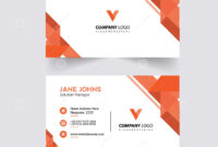 Abstruct Business Card Template Stock Illustration intended for Adobe Illustrator Card Template